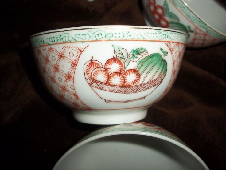 7(# 8 Found!) vintage Chinese rice bowls,Kangxi style,porcelain , white 1970's #Chinese