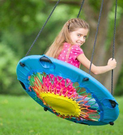 Amazon.com : Sunburst Swinging Chair : Playground Gym And Swinging Accessories : Toys & Games