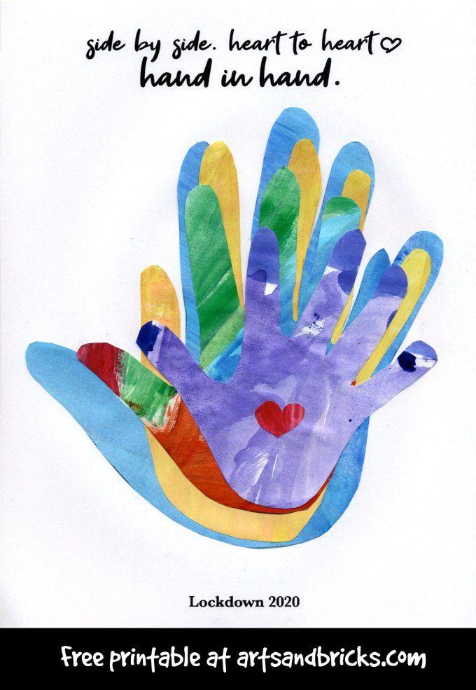 Pin on Handprint/Thumbprint Art