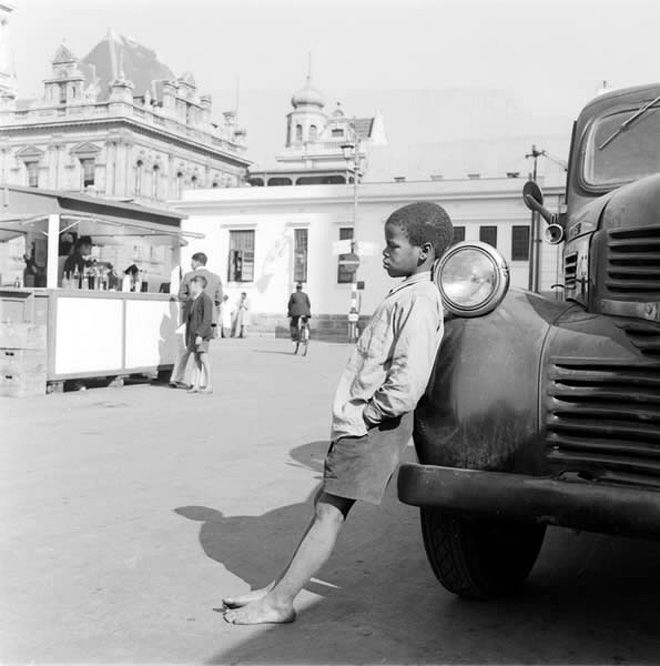cape town boy in the 50's