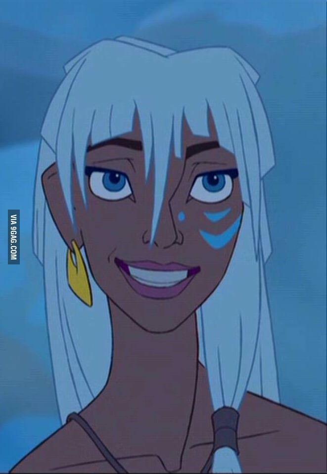 9GAG - A forgotten Disney princess: Kidagakash