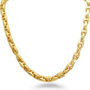 Men's Gold Necklace  #mens jewelry #mens gold necklace