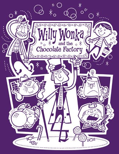 Willy Wonka and the Chocolate Factory by Derek Yaniger