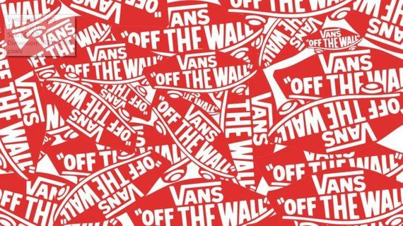 Vans Off The Wall Poster Surfing Skateboarding Print Logo