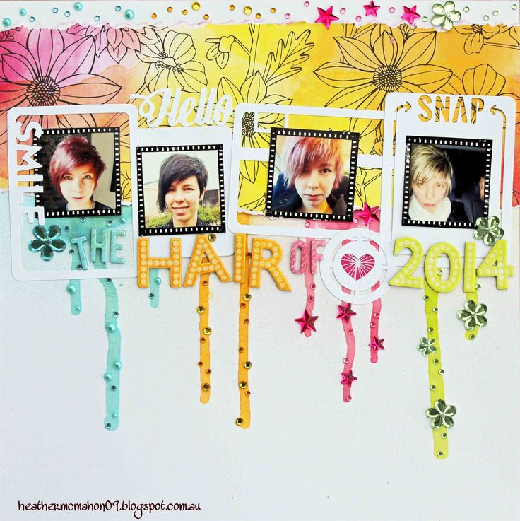 Created by Heather McMahon for Scrap Around The World, February 2015, Challenge 22.