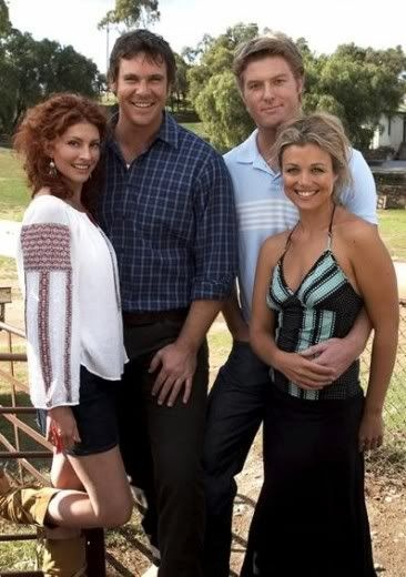 McLeod's Daughters - Alex & Stevie, Tess & Nick