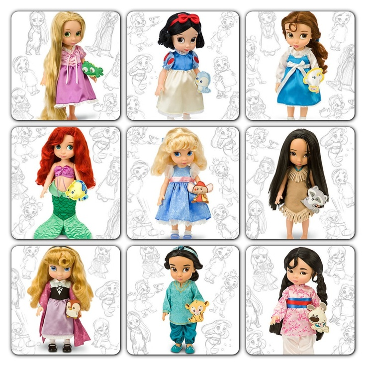disney princess animated collection dolls | Pink In A ...