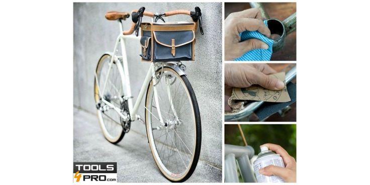 Comment restaurer un vélo Ce guide vous montre les étapes à suivre pour restaurer un vieux vélo avec un Marteau Perforateur Dewalt. C'est très simple et vous pouvez le faire vous-mêmes. Vous pouvez donner à votre vélo un nouvel air ou simplement le restaurer pour lui donner un nouvel usage. http://fr.tools4pro.com/blog  #diy   #restaurer   #vélo   #idees
