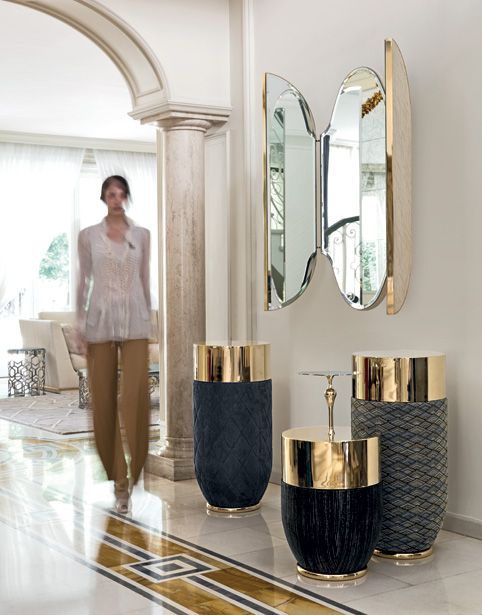 Mirage mirror by fl longhi via for Mirror 84 x 36