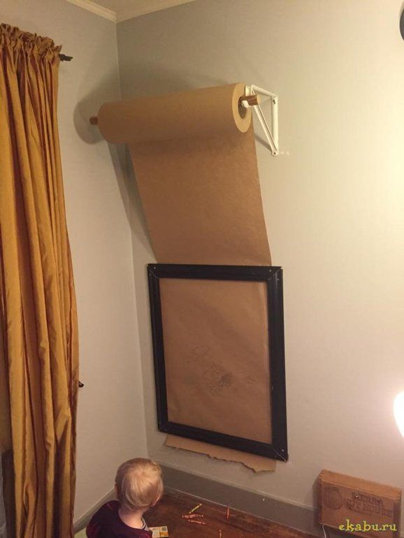Магнитно-грифельная или магнитно-маркерная стена в детскую от пользователя «id2029193» на Babyblog.ru