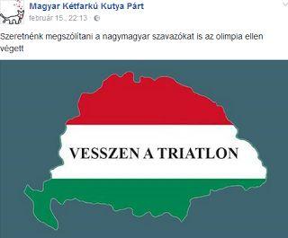Trianonon gúnyolódik a szélsőliberális Magyar Kétfarkú Kutya Párt http://ahiramiszamit.blogspot.ro/2017/02/trianonon-gunyolodik-szelsoliberalis.html