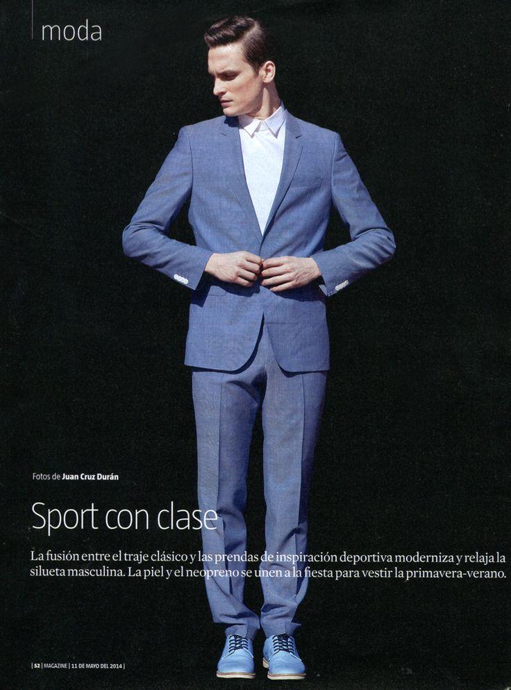 Chic Sporty Looks: Alejandro Rodriguez for La Vanguardia  image alejandro rodriguez photo 001