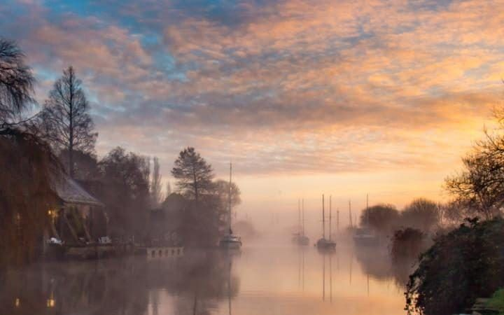 Local photographer Matthew Pinner caught this stunning sunrise at Wareham in Dorset. It is a far cry from the predicted disruption coming our way, with Storm Barbara approaches the UK. The Met Office said the worst of the weather was expected on Friday and Saturday, with gusts of up to 90mph forecast in parts of Scotland.