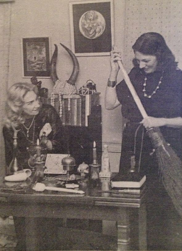 Witches Doreen Valiente and Patrica Crowther