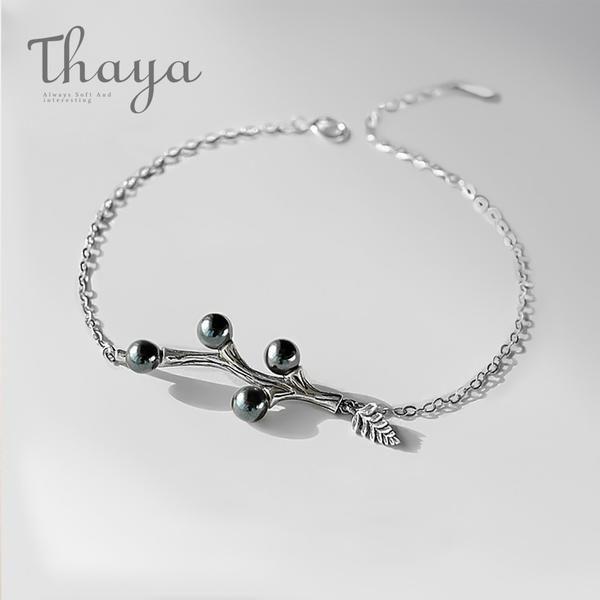 bcb4450345 Original Design Genuine 925 Pure Silver Sparkling Beads Black ...