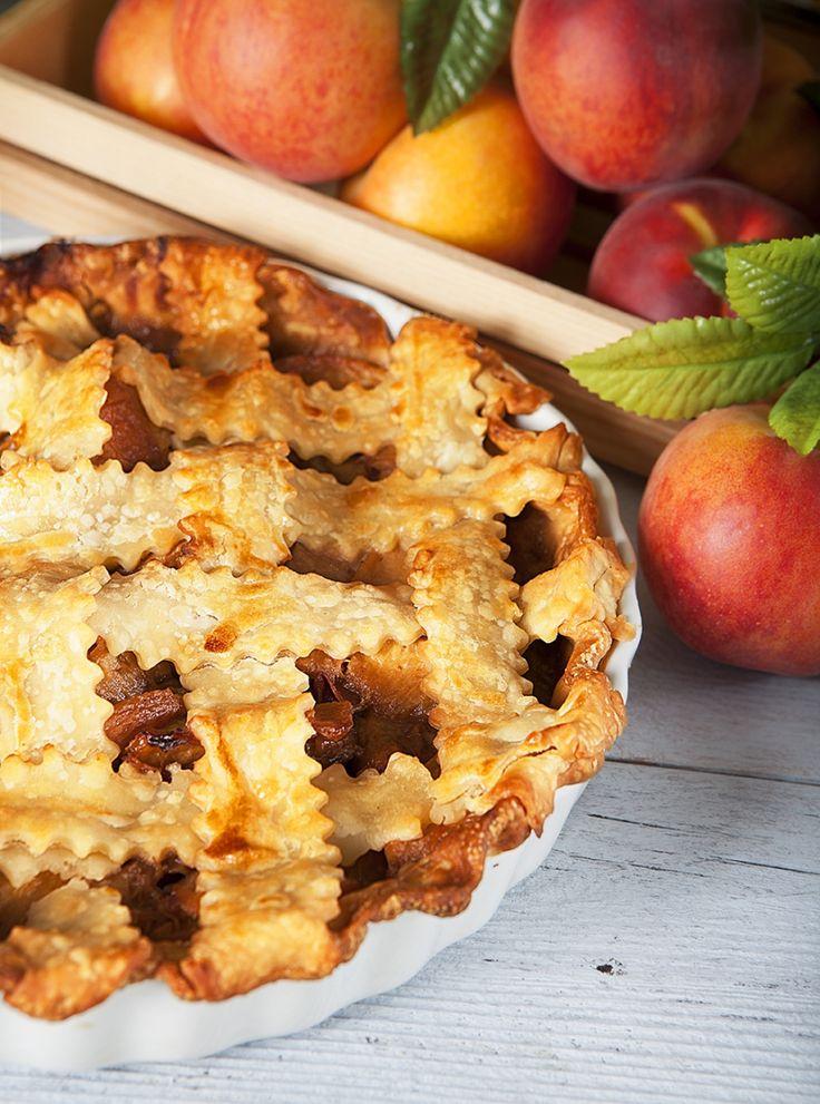 Karamellisierte Pfirsichpastete   Nugget Market Rezepte   – Pie in your eye!