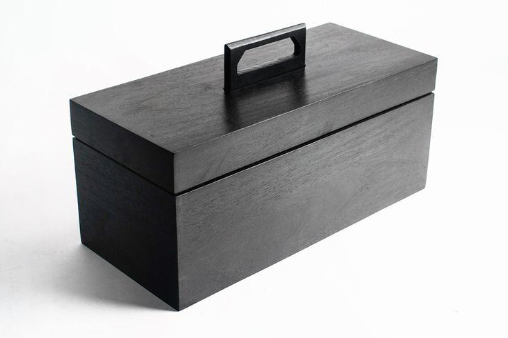 Limited Edition Uncrate X Poritz & Studio Ebony Abner Toolbox (Large)  — Poritz & Studio