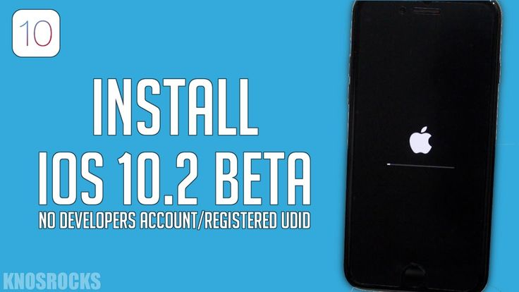 How To Install & Update To iOS 10.2 Beta 1 No Developers Account Compute...
