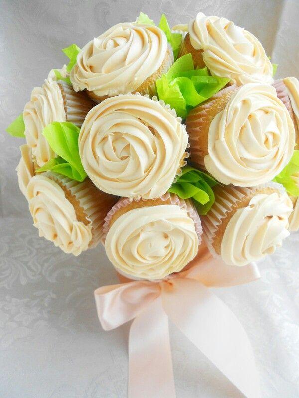 Maseta de rosas (cupcakes)