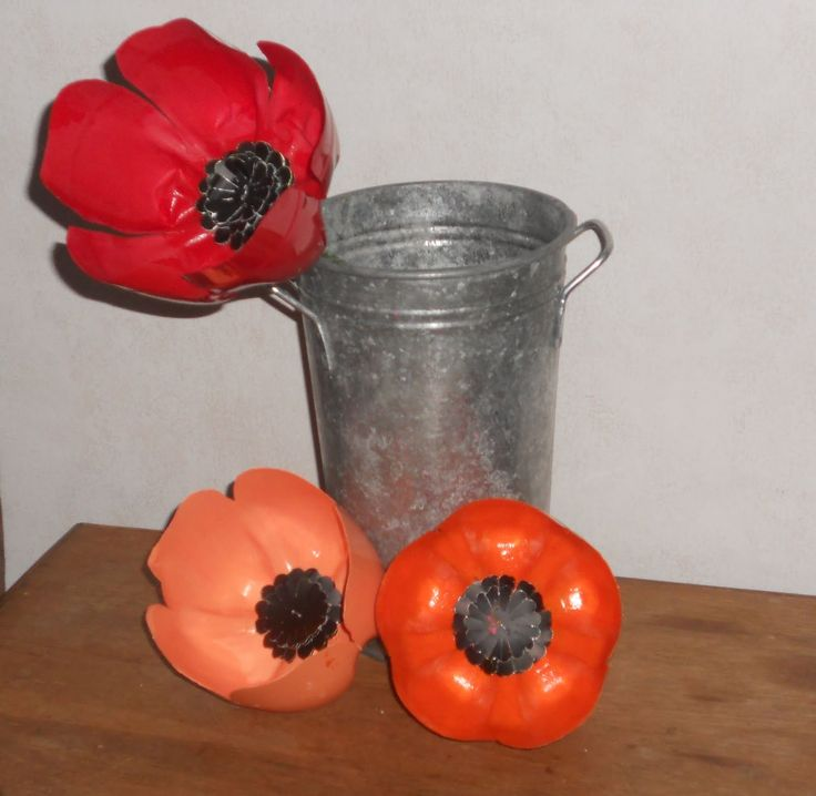 Poppies that are always in bloom :) - The Mad Recycler