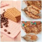 Tarta de galletas y chocolate