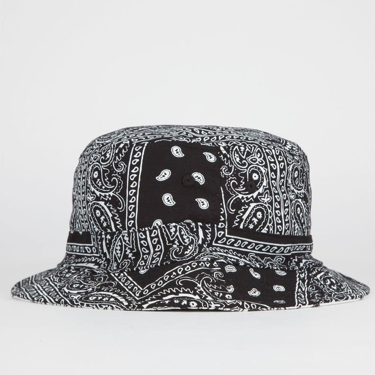 BLUE CROWN Reversible Paisley Mens Bucket Hat 230257100 | Bucket Hats | Tillys.com