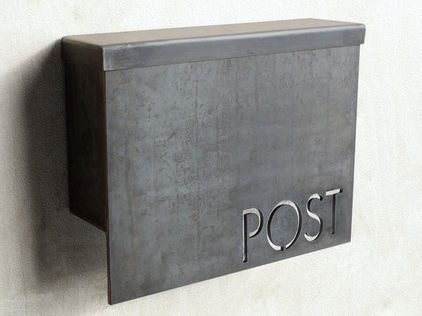 contemporary mailboxes by Etsy