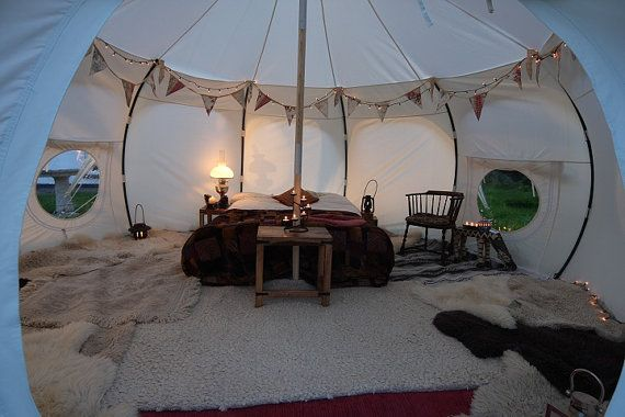 Lotus Belle beautiful handmade glamping tents by Lotusbelletents, $1500.00