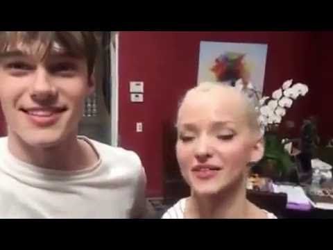 Mitchell Hope and Dove Cameron descendants2 - YouTube