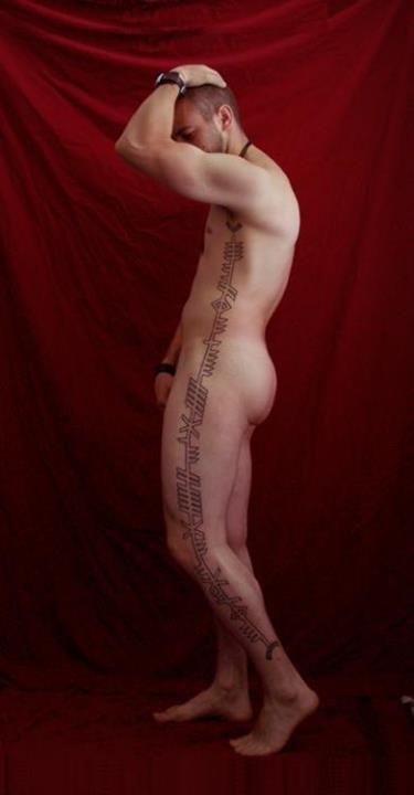 ogham tattoo                                                                                                                                                                                 Mais