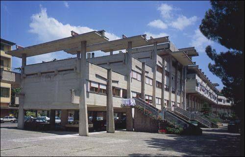 Case popolari di Sorgane by Leonardo Savioli, Leonardo Ricci and Ferdinando Poggi (progetto: 1962 - costruzione: 1980) Firenze