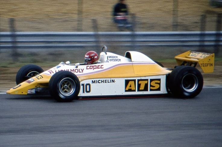 1982 Zolder ATS-Ford D5 Eliseo Salazar