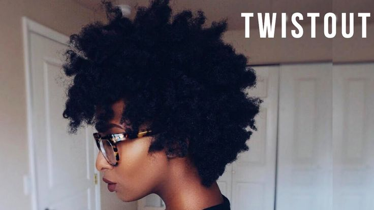 4B/4C NATURAL HAIR | TWIST OUT + FLAT TWIST OUT COMBO - YouTube