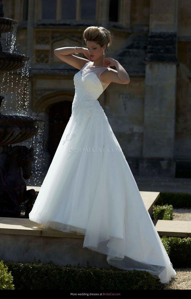 9 best Opulence images on Pinterest | Short wedding gowns, Wedding ...