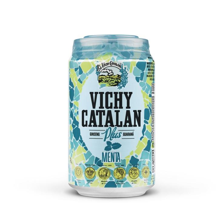 Nueva lata Vichy Catalán Plus Menta
