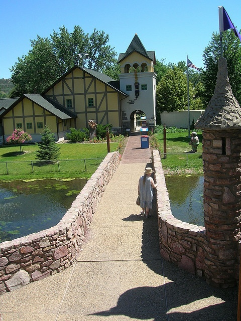 Storybook Island, Rapid City, SD. It's a sweet little park filled with sculptures and playgrounds in the theme of fairytales and storybook stories. - free admission! sponsored by Rotary Club