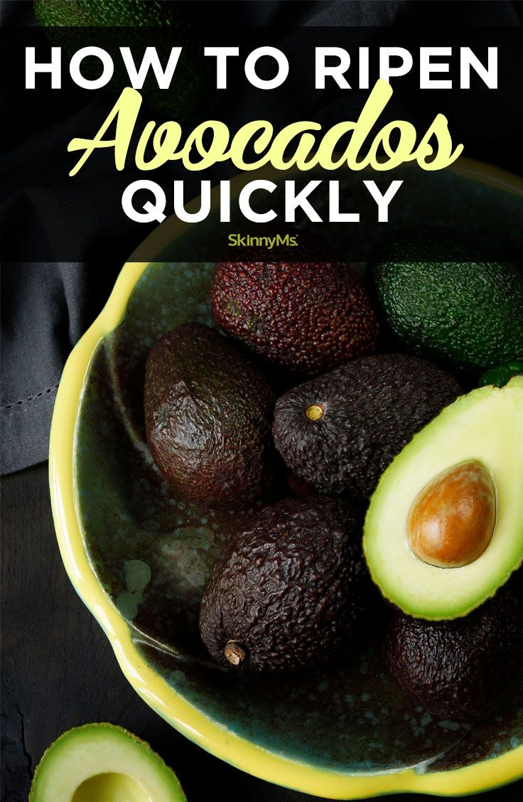 How Can I Get An Avocado To Ripen Quickly