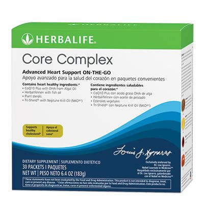 Heart health core complex with coq10 plus arget four key aspects of
