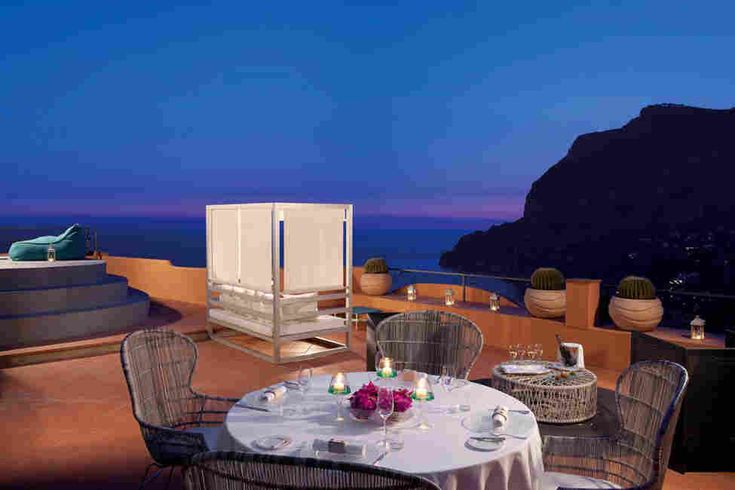 Отель Punta Tragara на острове Капри, Италия