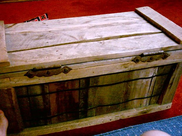How to build a toy box out of pallets woodworking Build your own toy chest