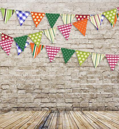 5x8ft фотографии фонов кирпичная стена флаги винил ткани печать стола для детей фотостудия S-111