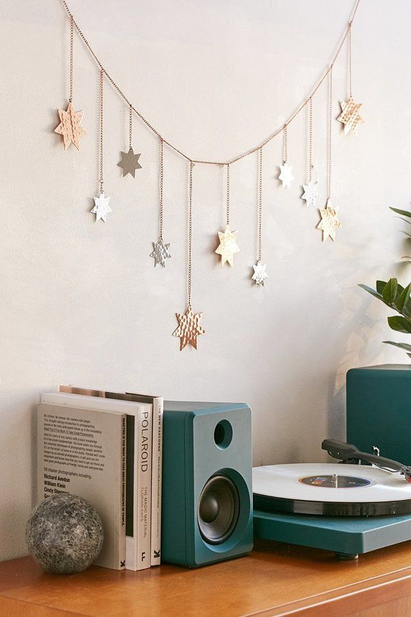 Urban Outfitters Metal Star Banner