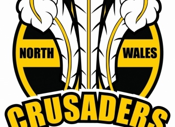 It was a historic day for rugby league in Wales, with it being the first 'Welsh Derby' for over a century and it was the newly formed North Wales Crusaders that came out