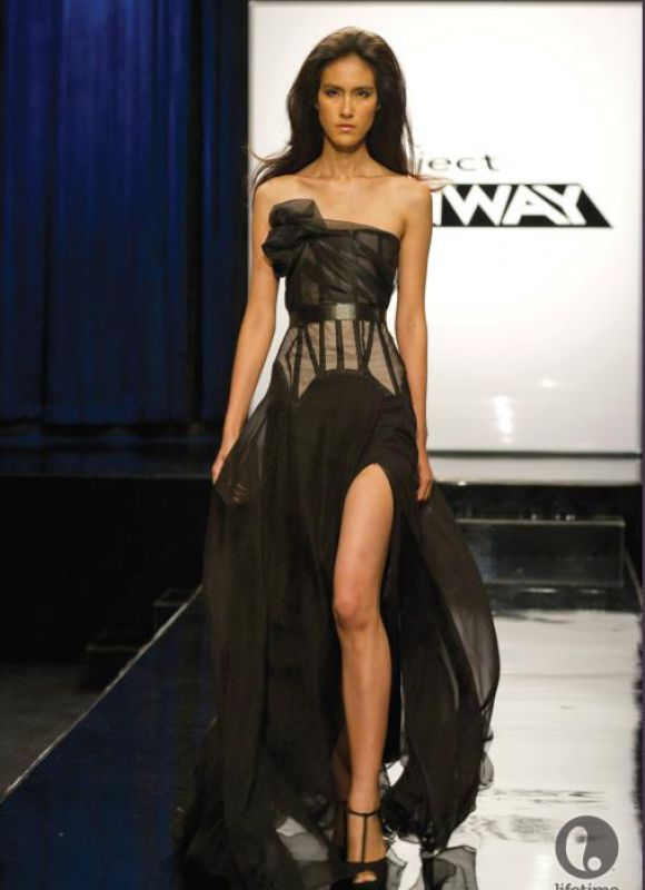 Project Runway dresses
