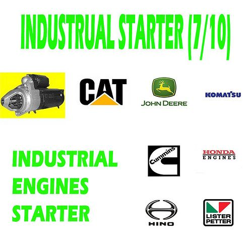 Industrial starter (7/10) ENGINES STARTER