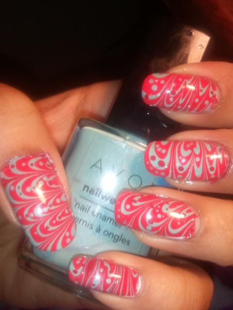 nails - marbling