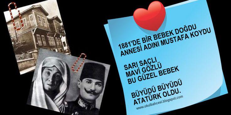 #tekerleme #atatürk #10kasım #okul #ilkokul #anasınıfı #okulöncesi #tekerlemeler #anasinifi #1sinif #1sınıf https://www.facebook.com/Okul-Bah%C3%A7esi-965104983549838/timeline/