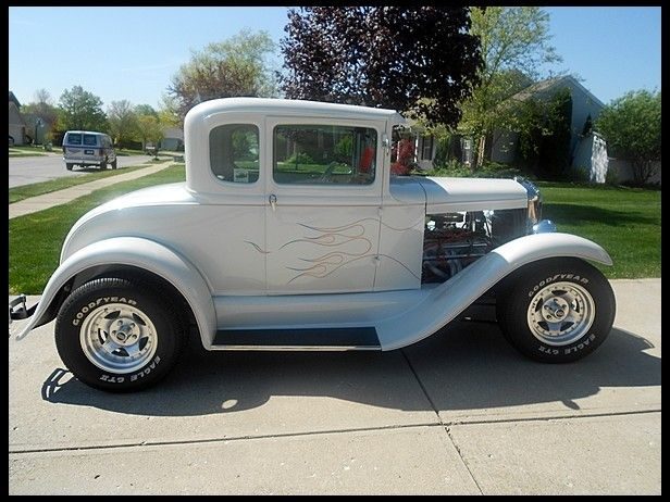 1931 #Ford 5 Window Coupe 350/350 HP, Automatic. Absolutely stunning - we just wish it came in stick! #HotRod