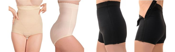 my favorite post pregnancy shapewear items - before and afters!