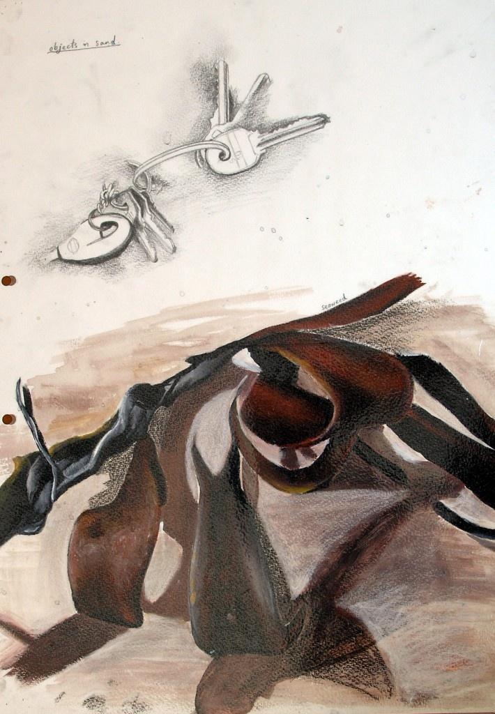 GCSE-art-sketchbook